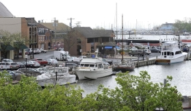 Annapolis has received a $1.5 million grant to aid its repairs of the historic City Dock. (Lloyd Fox / Baltimore Sun)