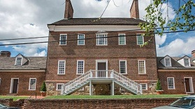 The James Brice House. Photograph by William Graham.